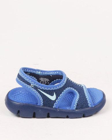 Nike Sunray 9 TDV Sandal Blue