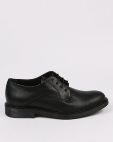 Bronx Jump Casual Lace Up Shoes Black