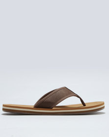 Call It Spring Dalphond Thong Sandal Brown
