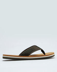 Call It Spring Dalphond Thong Sandal Green