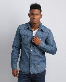 Levi's ®CLASSIC WESTERN SHIRT Blue