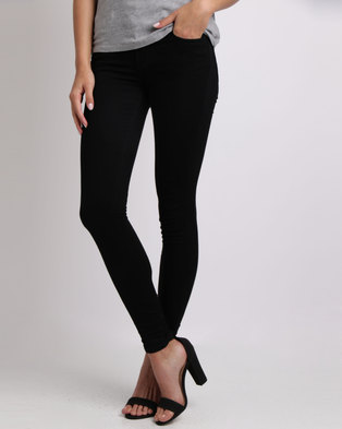 Levi's ® 710 Super Skinny Fit Jeans Secluded Echo Black