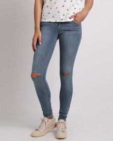 Levi's ® 710 SUPER SKINNY FIT JEANS BLUE