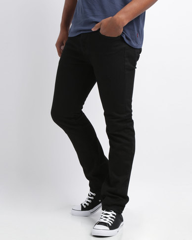 Levi's ® 501® SKINNY FIT JEANS BLACK PUNK