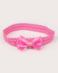 Jewels & Lace 3 Pack Bow Headband Set Multi