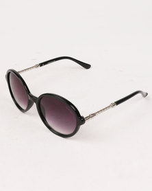 Bad Girl Scandal Sunglasses Black/Silver