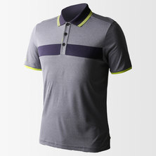 Chest Block Heather Polo Shirt