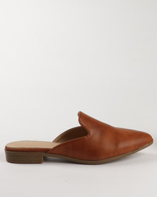 G Couture Slip On Shoes Brown