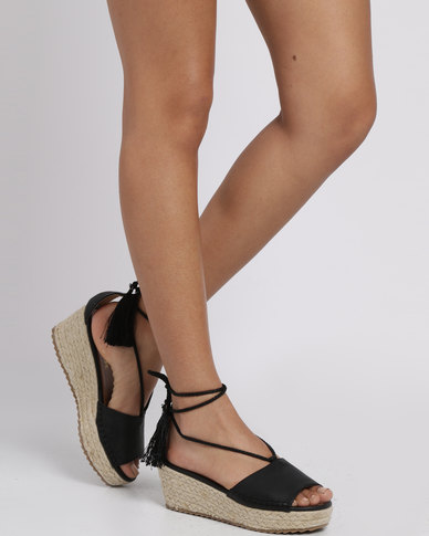 7e8210432c10 G Couture Wedge Sandal Black