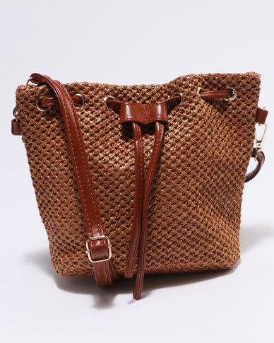 Miss Maxi Bucket Bag Tan
