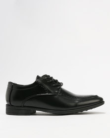 Ozlano Boys Formal Shoes Black