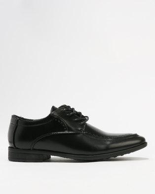 Ozlano Boys Formal Shoes Black