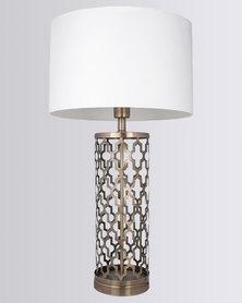 Illumina Sawyer Lamp Set White/Gold-tone