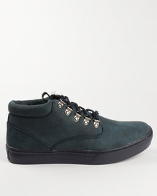 Urbanart George Casual Lace Up Boot Navy