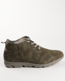 Urbanart Taito 3 Nub Boot Green