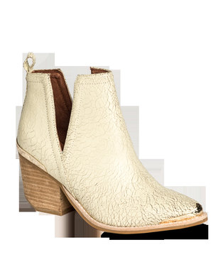 Jeffrey Campbell Cromwell Boots Crackle Nude