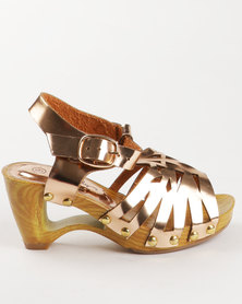 Candy Formal Heel Rose Gold