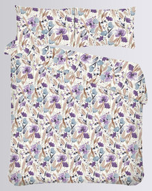 Romatex Microfibre Duvet Cover Set Wild Flower