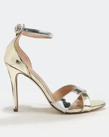 Call It Spring Kaneloa Heels Metallic