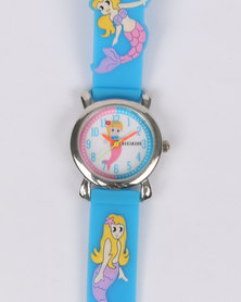 Digitime Mermaid Watch Blue