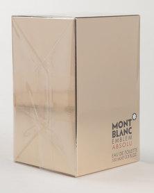 Mont Blanc Emblem Gold Absolu EDT 100ml