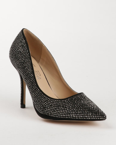 e6c7ec96e060 Gino Paoli Diamante High Heels Black