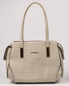 Blackcherry Bag Fashion Tote Silver