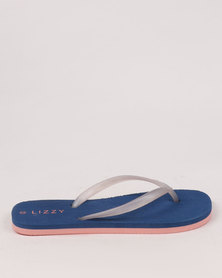 Lizzy Grace Coral/Navy