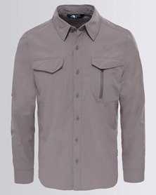 The North Face Long Sleeve Sequoia Shirt Falcon Brown