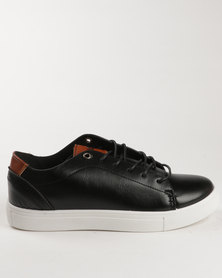 Soviet Rhodes Casual Low Cut Lace Up Sneaker Black