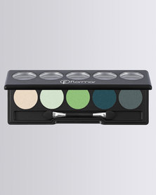 Flormar Professional Make-up Color Palette Eye Shadow Transforming Green