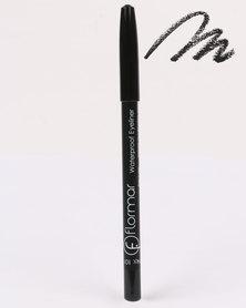 Flormar Professional Make-up Waterproof Eyeliner Pencil Black Ice