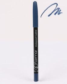 Flormar Professional Make-up Waterproof Eyeliner Pencil Navy Blue