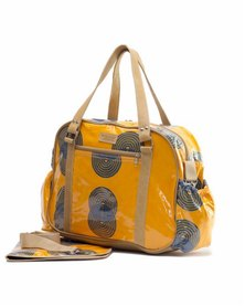 John Buck Emily Louise Shwe Shwe Nappy Bag - Blue and Orange