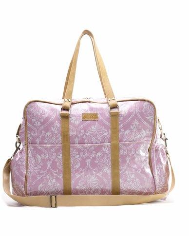 18330612ee John Buck Emily Louise Damask Toddlers Bag - Pink