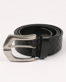 Soviet Vesta Leather Belt Black