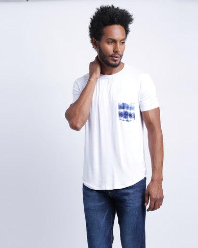 Utopia Inked Pocket T-Shirt White