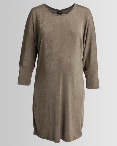 Me-A-Mama Gucci Dress Fatigue Green