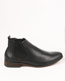 Zah Carlos Formal Boots Black