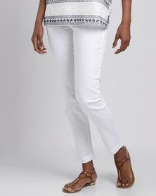 Gordon Smith Seminyak Slim Leg Miracle Jeans White