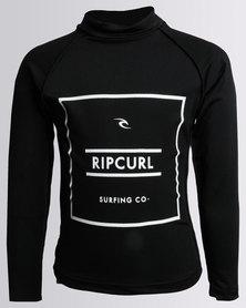 Rip Curl Boys Forged L/S Rashie Black