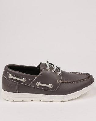 d465ff1cae9 Newport Leather Casual Boat Shoe Var 001 Tempest Grey. Quick View. New Port