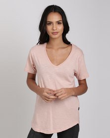 Silent Theory Marvelous Tee Blush Pink