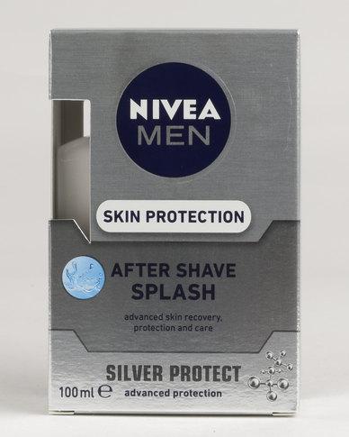 nivea men silver protect after shave splash 100ml zando