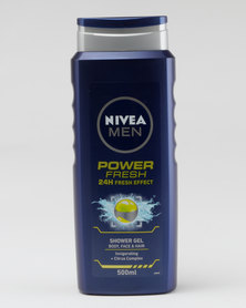 Nivea Men Power Refresh Shower Gel 500ml