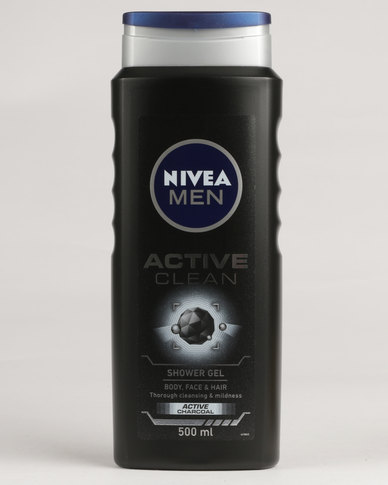 Superieur Nivea Men Active Clean Shower Gel 500ml
