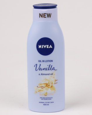 Nivea Vanilla And Almond Oil 400ml