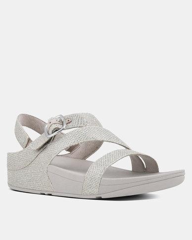 29cb4ca21325 FitFlop Skinny Z Strap Sandal Silver