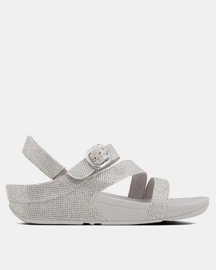 3330a32d5989 FitFlop Skinny Z Strap Sandal Silver