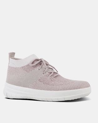 Uberknit Slip-On Hi Top Stone/Rose Gold Metallic